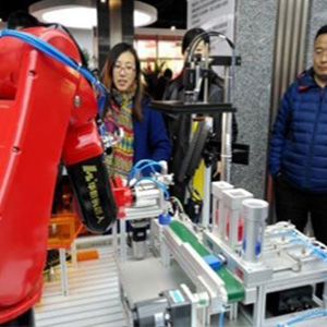 The largest industrial robot training base in Northeast China was completed in Shenyang